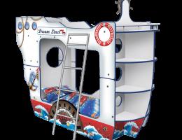 Кровать - Корабль Двухпалубный «ДримЛайнер» купить в наличии в Санкт-Петербурге