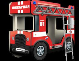 Двухъярусная кровать Автобус купить в наличии в Санкт-Петербурге