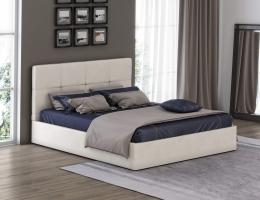 Кровать с мягким изголовьем Грация 1 купить в наличии в Санкт-Петербурге