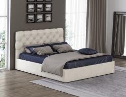 Кровать с мягким изголовьем Грация 3 купить в наличии в Санкт-Петербурге