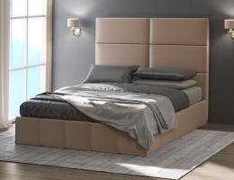 Кровать с мягким изголовьемМедисон-2 купить в наличии в Санкт-Петербурге