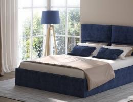 Кровать с мягким изголовьем Медисон-1 купить в наличии в Санкт-Петербурге