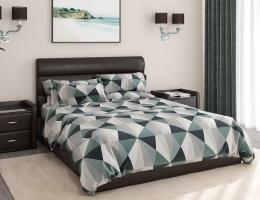 Кровать с мягким изголовьем Милана Лофт купить в наличии в Санкт-Петербурге