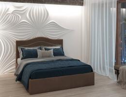 Кровать с мягким изголовьем Оливия купить в наличии в Санкт-Петербурге