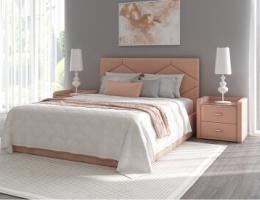 Кровать с мягким изголовьем Аделина купить в наличии в Санкт-Петербурге