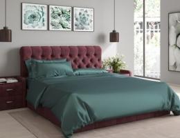 Кровать с мягким изголовьем Розалия купить в наличии в Санкт-Петербурге