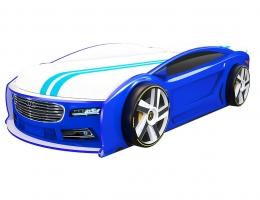 Кровать машина Ауди Манго Синяя 182*80 см купить в наличии в Санкт-Петербурге