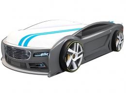 Кровать автомобиль Ауди Манго Графит 182*80 см купить в наличии в Санкт-Петербурге