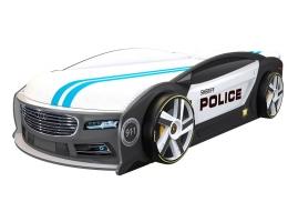 Кровать машина Ауди Манго Полиция купить в наличии в Санкт-Петербурге