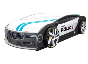 Кровать машина Ауди Манго Полиция