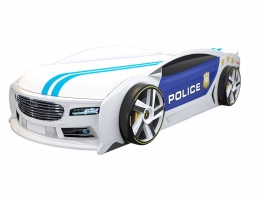 Кровать автомобильАуди Манго Полиция 2 купить в наличии в Санкт-Петербурге
