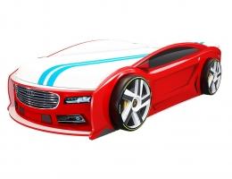 Кровать машина Ауди Манго Красная купить в наличии в Санкт-Петербурге