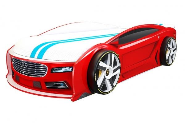 Кровать машина Ауди Манго Красная в Санкт-Петербурге с доставкой