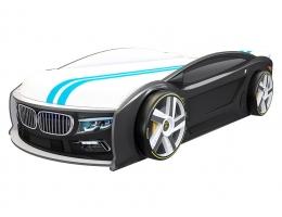 Кровать машина БМВ Манго Черная купить в наличии в Санкт-Петербурге