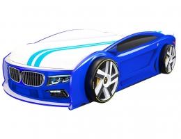 Кровать машина БМВ Манго Синяя купить в наличии в Санкт-Петербурге