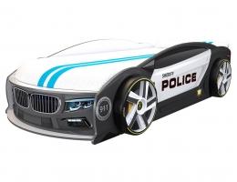 Кровать машина БМВ Манго Полиция купить в наличии в Санкт-Петербурге