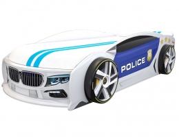 Кровать машина БМВ Манго Полиция 2 купить в наличии в Санкт-Петербурге