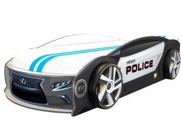 Подростковая кровать-машина Лексус Манго Полиция купить в наличии в Санкт-Петербурге