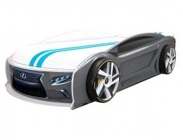 Подростковая кровать-автомобиль Лексус Манго Графит купить в наличии в Санкт-Петербурге