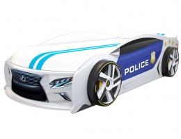 Кровать машина Лексус Манго Полиция 2 купить в наличии в Санкт-Петербурге