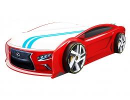 Кровать машина Лексус Манго Красный 182*80 см купить в наличии в Санкт-Петербурге