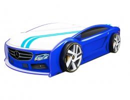 Кровать машина Мерседес Манго Синий купить в наличии в Санкт-Петербурге