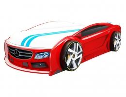 Кровать машина Мерседес Манго Красный купить в наличии в Санкт-Петербурге