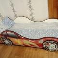 Кровать машина детская Токио без запаха