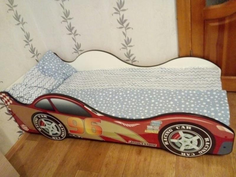 Кровать машина детская Токио с официальной гарантией