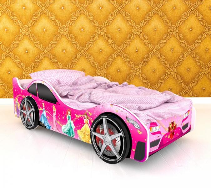 Детская кровать - машина Вена с профессиональной сборкой