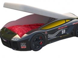 Кровать машина Ламба Next Черная с подъемным механизмом купить в наличии в Санкт-Петербурге