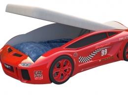 Кровать машина Ламба Next Красная2 с подъемным механизмом купить в наличии в Санкт-Петербурге