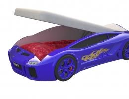 Кровать машина Ламба Next Синяя с подъемным механизмом купить в наличии в Санкт-Петербурге