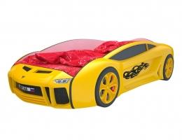 Кровать машина Ламба Next Желтая купить в наличии в Санкт-Петербурге