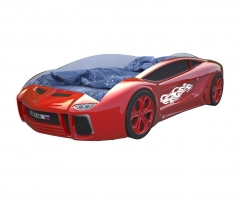 Кровать машина Ламба Next Красная
