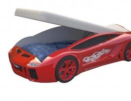Кровать машина Ламба Next Красная с подъемным механизмом купить в наличии в Санкт-Петербурге
