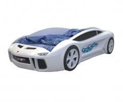 Кровать машина Ламба Next Белая