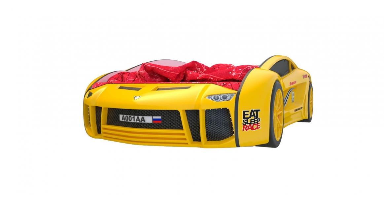 Кровать машина Ламба Next Желтая2 с официальной гарантией