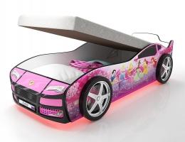 Кровать машина Турбо Фея с подъемным матрасом купить в наличии в Санкт-Петербурге