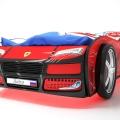 Объемная кровать машина Турбо Красная в интернет-магазине