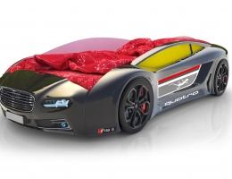 Объемная кровать машина Roadster Ауди Черная купить в наличии в Санкт-Петербурге