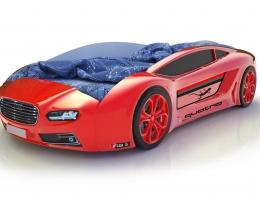 Объемная кровать машина Roadster Ауди Красная купить в наличии в Санкт-Петербурге