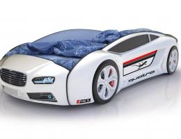 Объемная кровать машина Roadster Ауди Белая купить в наличии в Санкт-Петербурге
