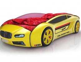 Объемная кровать машина Roadster Ауди Желтая купить в наличии в Санкт-Петербурге