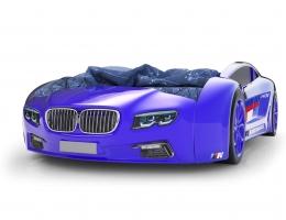 Объемная кровать машина Roadster БМВ Синяя купить в наличии в Санкт-Петербурге