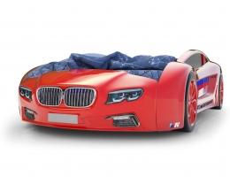 Объемная кровать машина Roadster БМВ Красная купить в наличии в Санкт-Петербурге