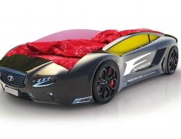 Объемная кровать машина Roadster Лексус Черный купить в наличии в Санкт-Петербурге