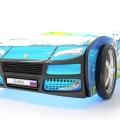 Объемная кровать машина Турбо смешарики синяя в интернет-магазине