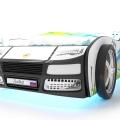 Объемная кровать машина Турбо смешарики белая в интернет-магазине