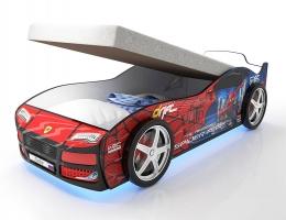 Кровать машина Человек Паук Турбо Спайдер с подъемным матрасом купить в наличии в Санкт-Петербурге